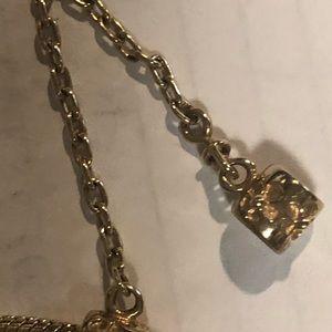 Pandora 14k safety chain for bracelets
